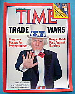 Time Magazine-october 7, 1985-trade Wars