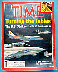 Time Magazine-october 21, 1985-turning The Tables