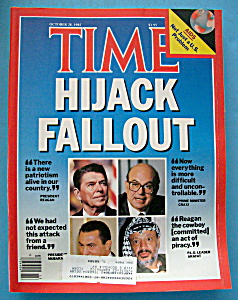 Time Magazine-october 28, 1985-hijack Fallout