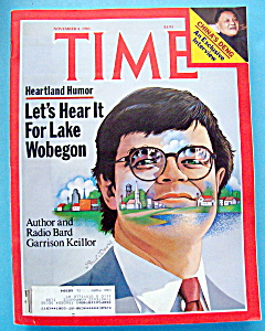 Time Magazine-November 4, 1985-Garrison Keillor (Image1)