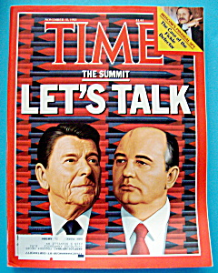 Time Magazine-November 18, 1985-The Summit (Image1)