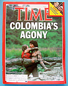 Time Magazine-November 25, 1985-Colombia's Agony (Image1)