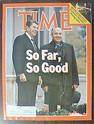 Time Magazine-december 2, 1985-ronald Reagan