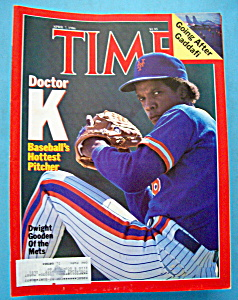 Time Magazine-April 7, 1986-Dwight Gooden (Image1)