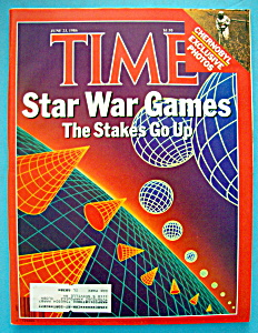 Time Magazine - June 23, 1986 - Star War Games