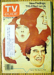 Tv Guide-december 17-23, 1977-one Day At A Time