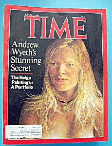 Time Magazine - August 18, 1986 - Andrew Wyeth
