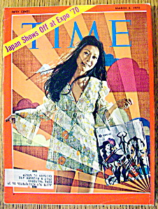 Time Magazine-march 2, 1970-japan Shows Off At Expo '70