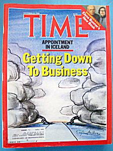 Time Magazine  - October 13, 1986 - Iceland (Image1)