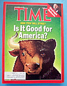 Time Magazine - November 10, 1986 - Wall Street