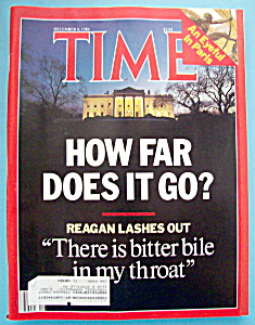 Time Magazine - December 8, 1986 - How Far Does It Go?