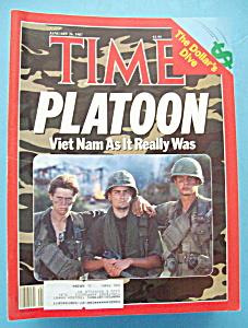 Time Magazine - January 26, 1987 - Platoon