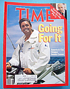 Time Magazine - February 9, 1987 - Dennis Conner