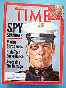Time Magazine - April 20, 1987 - Spy Scandals (Image1)