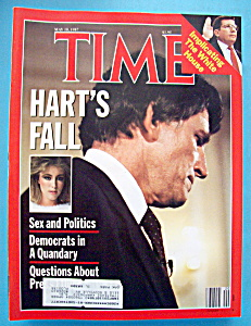 Time Magazine - May 18, 1987 - Hart's Fall
