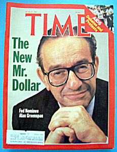 Time Magazine - June 15, 1987 - Alan Greenspan