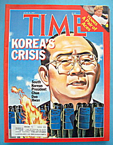 Time Magazine - June 29, 1987 - Korea's Crisis