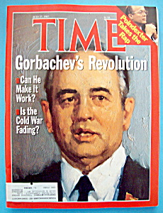 Time Magazine - July 27, 1987 - Gorbachev's Revolution