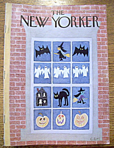 The New Yorker Magazine - October 29, 1979