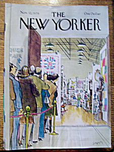 The New Yorker Magazine - November 12, 1979