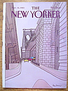 The New Yorker Magazine - November 14, 1983