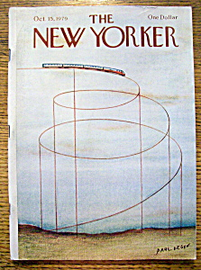 The New Yorker Magazine - October 15, 1979