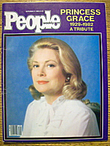 People Magazine-september 27, 1982-princess Grace