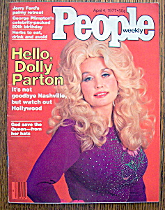 People Magazine - April 4, 1977 - Dolly Parton