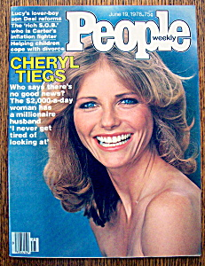 People Magazine - June 19, 1978 - Cheryl Tiegs