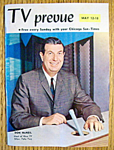 Tv Prevue - May 12-18, 1963 - Don Mcneil