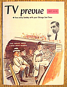 Tv Prevue - October 4-10, 1964 - Paul Molloy