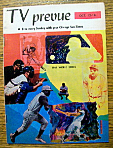 Tv Prevue - October 12-18, 1969 - 1969 World Series
