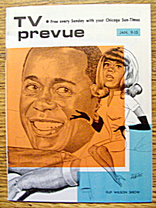 Tv Prevue - January 9-15, 1972 - Flip Wilson
