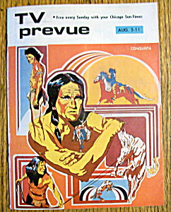 Tv Prevue - August 5-11, 1973 - Conquista