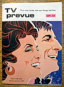 Tv Prevue-september 2-8, 1973-tony And Lena