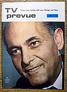 Tv Prevue - January 6-12, 1974 - Sir Georg Solti