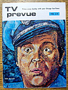 Tv Prevue - February 3-9, 1974 - Dom Deluise