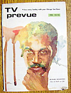 Tv Prevue - February 10-16 1974 - Richard Roundtree