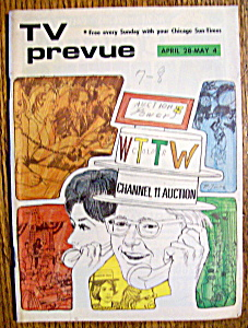 Tv Prevue - April 28-may 4, 1974 - Wttw
