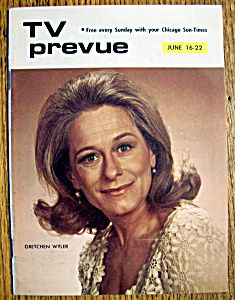 Tv Prevue - June 16-22, 1974 - Gretchen Wyler
