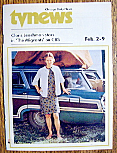 Tv News - February 2-9, 1974 - Cloris Leachman
