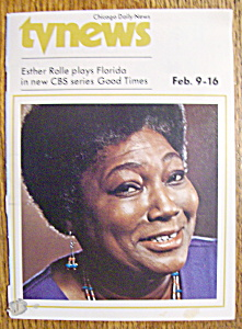 Tv News - February 9-16, 1974 - Esther Rolle