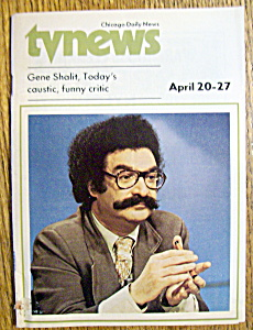 Tv News - April 20-27, 1974 - Gene Shalit