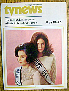 Tv News - May 18-25, 1974 - Miss U.s.a. Pageant
