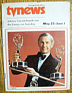 Tv News - May 25 - June 1, 1974 - Johnny Carson