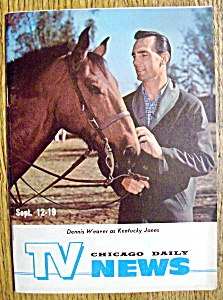 Tv News - September 12-19, 1964 - Dennis Weaver