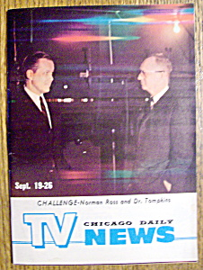 Tv News - September 19-26, 1964 - N. Ross/dr. Tompkins