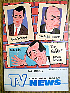 Tv News - November 7-14, 1964 - The Rogues