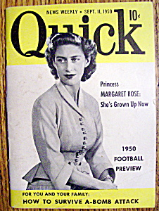 Quick Magazine-sept 11, 1950-princess Margaret Rose