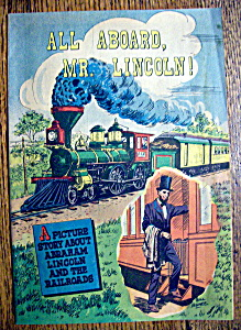 1959 All Aboard, Mr. Lincoln! Promotional Comic (Image1)